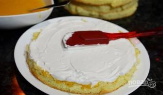 Торт бисквитный - фото шаг 11