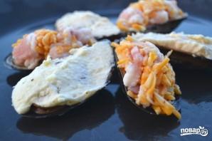 Мидии, запеченные с сыром - фото шаг 9