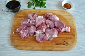 Шашлык из свинины в соевом соусе - фото шаг 2