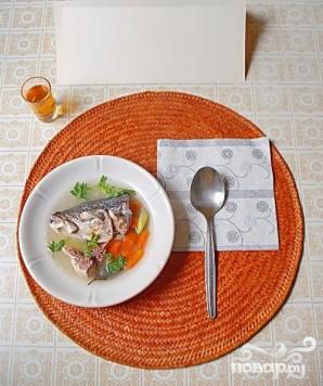 Легкий суп из желтохвоста - фото шаг 4