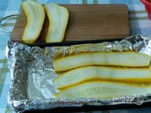 Кабачки диетические (рулетики с сыром) - фото шаг 2