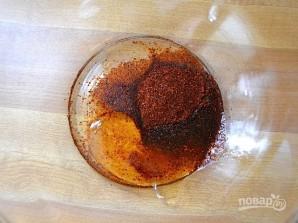 Жареные креветки в остром маринаде - фото шаг 1