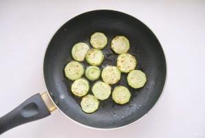 Салат с кабачками и баклажанами - фото шаг 4