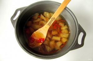 Варенье из арбуза и дыни - фото шаг 6