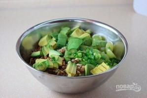 Летний салат с куриной грудкой и виноградом - фото шаг 6