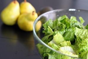 Салат с авокадо и грушей - фото шаг 4