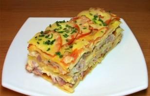 Лазанья с сыром и ветчиной - фото шаг 19