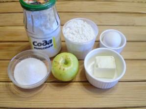 Печенье с яблоками - фото шаг 1