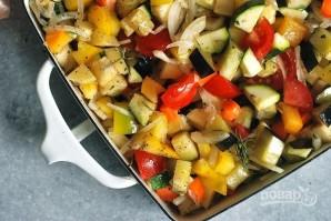 Запеченные овощи на гарнир - фото шаг 3