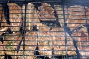 Ребрышки барбекю на мангале - фото шаг 6