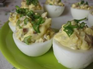 Яйца, фаршированные грибами - фото шаг 7