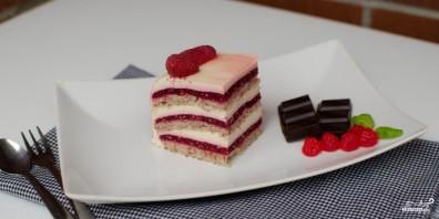 Малиновый торт - фото шаг 20
