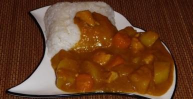 Карри с рисом по-японски - фото шаг 9