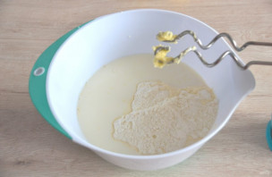 Лимонный торт с белковым кремом - фото шаг 4
