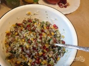 Салат с рисом и говядиной - фото шаг 7