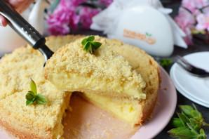 Пирог с заварным кремом - фото шаг 14