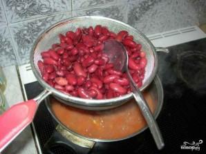 Суп чили с фасолью - фото шаг 7