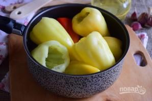 Болгарский перец, фаршированный капустой - фото шаг 3