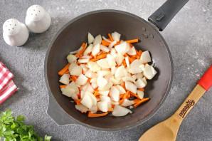 Тушеные кабачки со стручковой фасолью - фото шаг 2