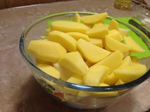 Вкусные свиные ребрышки с картошечкой - фото шаг 6