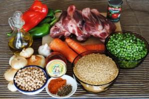 Суп из баранины с булгуром - фото шаг 1