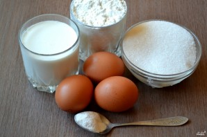 Печенье из бисквитного теста - фото шаг 1