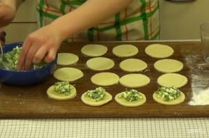 Пирожки из хрущевского теста - фото шаг 4
