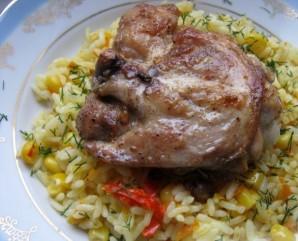 Вкусная курица на сковороде - фото шаг 4