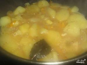 Тушеная картошка с болгарским перцем - фото шаг 5