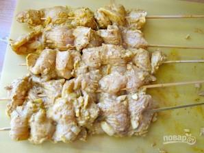 Шашлык из курицы с кефиром - фото шаг 6