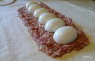 Мясной пирог из слоеного теста - фото шаг 2