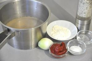 Красный мясной соус - фото шаг 1