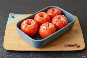 Соленые фаршированные помидоры - фото шаг 3