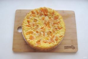 Бисквит с абрикосами - фото шаг 9