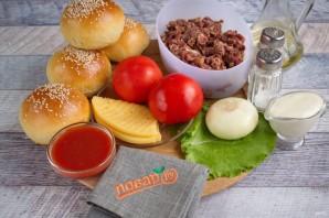 Говяжий бургер - фото шаг 1