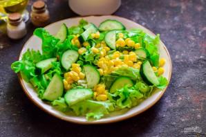 Испанский салат с тунцом - фото шаг 4