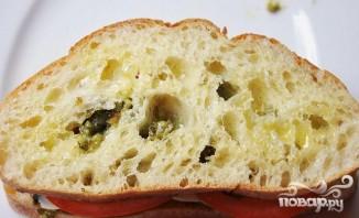 Сэндвичи с помидорами, соусом и сыром - фото шаг 5