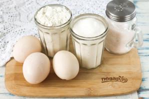 Бисквит без разделения яиц - фото шаг 1