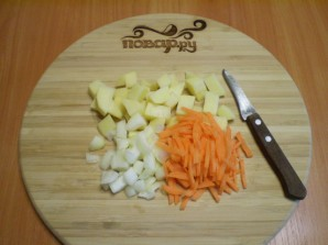 Суп на рыбном бульоне - фото шаг 4