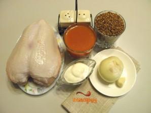 Тефтели с гречкой в духовке - фото шаг 1