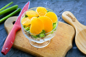Салат с курицей и бананом - фото шаг 7