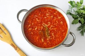 Суп харчо с тушенкой - фото шаг 9