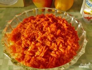 Салат с маринованными шампиньонами - фото шаг 6