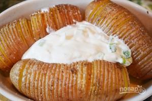 Чипсы из картофеля в мундире с дипом - фото шаг 4