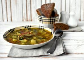 Суп с летними овощами - фото шаг 5