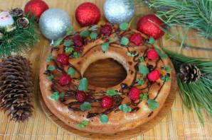 Рождественский кекс с коньяком - фото шаг 11