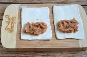 Пирожки из слоеного бездрожжевого теста - фото шаг 3