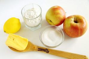 Песочный пирог с яблоками от Юлии Высоцкой - фото шаг 1