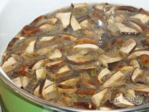 Суп-пюре из лесных грибов - фото шаг 7