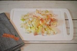 Яблоки в лаваше - фото шаг 1